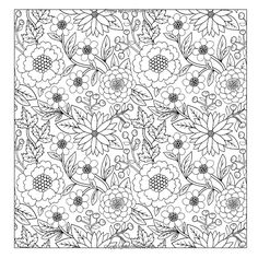 Lilt Kids Coloring Books / Beautiful Floral Designs and Patterns Flower Garden Coloring Book (Volume 27) / Amazon.com