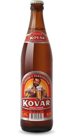 Kovář světlé výčepní pivo Světlé výčepní pivo s výrazně osvěžujícím dojmem po napití. Vzhledem k nižšímu obsahu alkoholu a chmelového extraktu výrazně méně zatěžuje organismus, a proto je vhodné k rychlému občerstvení. Vyznačuje se slabší hořkostí.