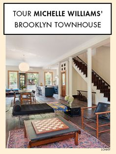 Michelle Williams and the late Heath Ledger purchased a gorgeous townhouse in the heart of Brooklyn's Boerum Hill neighborhood back in 2005. It's now on the market withBrown Harris Stevensfor $7.5 million, complete with an ivy covered facade, a wine cellar, and a rooftop garden. Check out more of this too-good-to-be-true city escape.