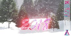 2018 New Year Background 2