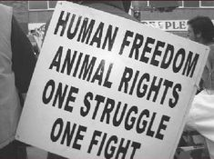 human freedom, animal rights