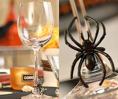 These inexpensive rings make great wine glass identifiers. What a chic idea from BHG!