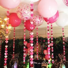 Ideas party balloons decorations pink for 2019 Fun Party Themes, Balloon Decorations Party, Birthday Party Decorations, Birthday Parties, Ideas Party, Pink Decorations, Birthday Wishes, Balloon Tassel, Balloon Garland