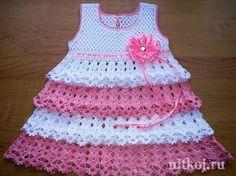 Платье, сарафанчики » Ниткой - вязаные вещи для вашего дома ...