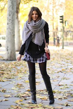 trendy_taste-look-outfit-street_style-moda_españa-fashion_spain-black_blouse-MM_watches-blusa_negra-tartan_skirt-falda_cuadros-givenchy_boots-botas_negras-zara-thecode-pepito-polaroid-16 by Trendy Taste, via Flickr