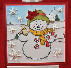 Tinas kreative Seite - #4 von 24 Squares for Christmas