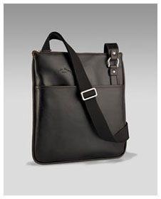 My chocolate Ferragamo messenger bag. Worth every penny!