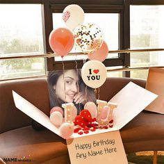 Birthday Surprise For Girlfriend, Birthday Wishes With Name, Birthday Gifts For Girlfriend, Husband Birthday, Birthday Surprise Ideas, Diy Birthday Ideas For Boyfriend, Birthday Ideas For Girlfriend, Husband Surprise, Birthday Surprises For Him