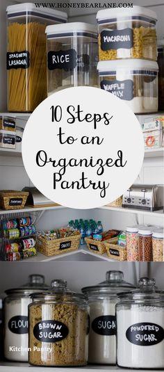 New Kitchen Pantry Ideas #kitchenpantryideas