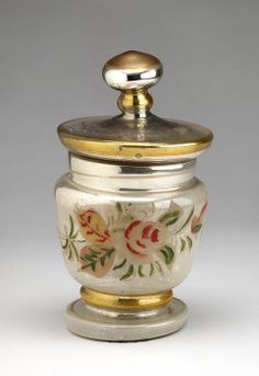 Covered Jar decorated by Charles Prendergast  ca. 1850 at Williams College Museum of Art
