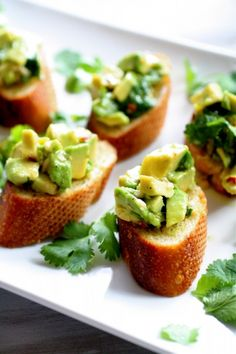 Avocado Bruschetta // In need of a detox? Get your teatox on with 10% off using our discount code 'Pinterest10' on www.skinnymetea.com.au X