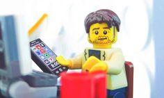 Customized LEGO Minifig Portraits of You