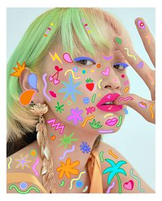 Series of illustrated stickers on photography Photography Themes, Face Photography, Photography Illustration, Photo Illustration, Graphic Illustration, Fashion Photography, Aesthetic Makeup, Aesthetic Images, Portrait Art