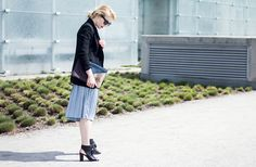 LOOK: Jak nosić plisy na co dzień? | Milena Bekalarska