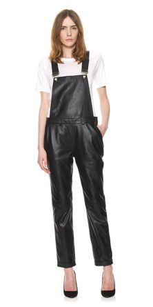 Leather Dungaree