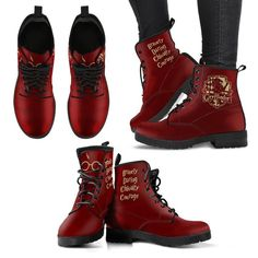 Step Into The Wizarding World with These Harry Potter Boots.The sturdy but stylish boots are available for a limited time — RIGHT NOW! — and they are going fast. So if you are a Harry Potter obsessive, get to it and don't delay. Harry Potter Shoes, Harry Potter Accessories, Harry Potter Merchandise, Harry Potter Jewelry, Harry Potter Style, Harry Potter Outfits, Harry Potter Facts, Harry Potter Hogwarts, Fandom Jewelry