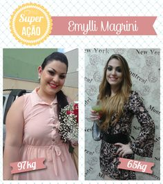 Superação Emylli Magrini - Blog da Mimis - Emylli não se aceitava e chegou a ficar hipertensa aos 21 anos. Mas conseguiu emagrecer 32Kg e hoje é mais ativa, saudável e feliz!