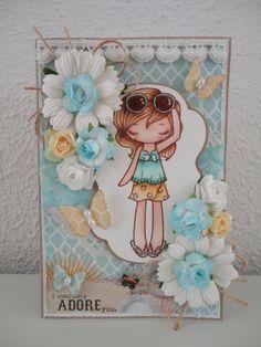 My card for Liliana