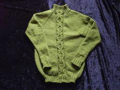 Neuer Pullover, ohne Anleitung, Muster selber zusammen gestellt.