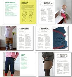 Vendestrik bukser af Hanne Meedom