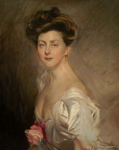 Boldini's portrait of Gladys Deacon, eccentric American and erstwhile Duchess of Marlborough in the early 20th Century.