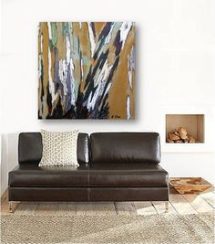Greige Neutral Extra Large Wall Art Diptych Set Canvas Print Tree Extraordinary Large Artwork For Living Room Decorating Inspiration