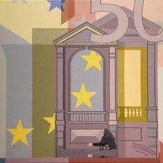 La nueva Europa  - 2011 Acrílico/lienzo - 100 X 100 cm