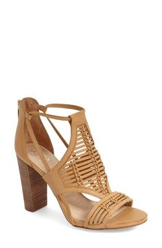 Found this Vince Camuto sandal at Nordstrom.com - like it in the Cognac color