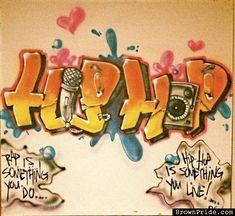 Image result for hip hop graffiti n