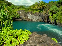Venus Pools, Hana, Maui