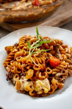 Krämig Köttfärsgratäng Pasta Recipes, Cooking Recipes, Great Recipes, Favorite Recipes, Tasty Videos, Happy Foods, Foods To Eat, Everyday Food, Food Cravings