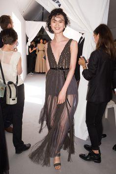 Christian Dior Fall 2017 Couture Beauty Photos - Vogue