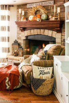 A Stroll Thru Life: Fall Decor Inspiration to Copy