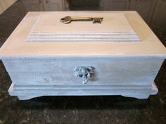 Wooden Memory Box by WillowsFeatheredNest on Etsy, $28.00