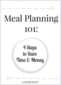 Is meal planning a part of your life, or something you are want to get started with? It's one of the best ways to cook more meals, save money and save time. Today I'm going to share my process for ...