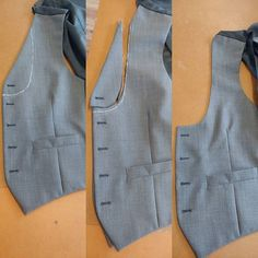 Waistcoat front transformation. Just another little alteration we do from time to time. From traditional to horseshoe. . . . . . . . .  karlusg-tailor.co.uk  #waistcoat #alteration #transform #repair #bespoketailoring #bespoke #bespokecutter  #handmade #handcrafted #custom #cutting  #tailor  #madeinuk #mensfashion #menswear #wedding #groom  #birmingham #british #JQ #style  #karlusgstudio #hilsdmd #karlusgtailor #creative #creativity #unique #weddingideas #execute #disipline Bespoke Suit, Bespoke Tailoring, Menswear Wedding, Made In Uk, Wedding Groom, Birmingham, Weddingideas, Casual Wear, Creativity