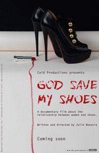 Wednesday, July 10-GOD SAVE MY SHOES at Benaki Summer Festival. More info at: www.benakisummerfestival.gr