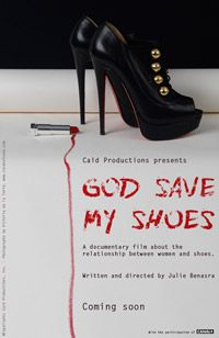 Wednesday, July 10-GOD SAVE MY SHOES at Benaki Summer Festival. More info at: www.benakisummerfestival.gr