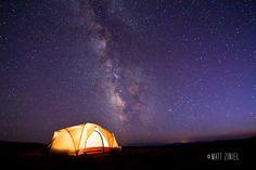 Wyoming Nights, by Matt Ziniel via 500px