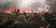 Batalla de Oriamendi, de Augusto Ferrer-Dalmau.