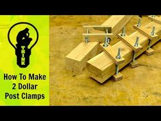 How to Make $2 Clamps, Build a Wooden Vase and Avoid Nail Gun Blowouts - Core77