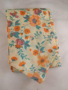 Vintage Scarf / Floral Scarf / Head Scarf by VintageBaublesnBits, $10.00
