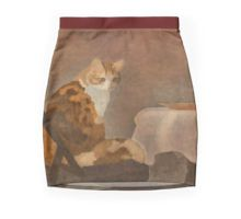 Pencil Skirt - I wish I was young and thin again, so cute. #cat #skirt