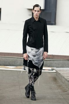 Tom Rebl ss13 | men's skirts
