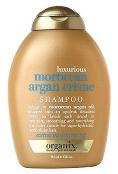 Organix Luxurious Moroccan Argan Creme Shampoo 385 ml  Argan yağıın krem haline getirilmiş formu ile saçları derinlemesine nemlendirip, saçın dış yüzeyinde bulunan kutikülleri pürüzsüzleştirip, yumuşak ve parlak bir görünüm kazandırmaya yardımcı olur. En iyi sonuç için serinin diğer tamamlayıcı ürünleri ile beraber kullanın.