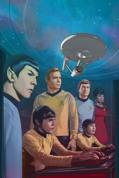 star trek art | Star Trek: Gold Key Archives Vol. 2 by strib