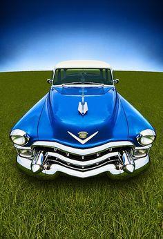 Eldorado in Blue, 1953 Cadillac Eldorado. #blue #Cadillac