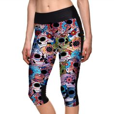 New Women Yoga Pants Leggings Fitness Gym Sports Pants 3D Digital Print  Yoga Leggings Plus Size 7fcf867ef86d