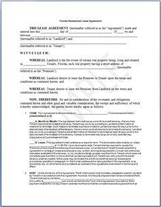 Rental Agreement Form Free printable | Free Word Templates - rental ...