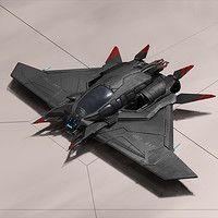 personal sci fi spaceship design